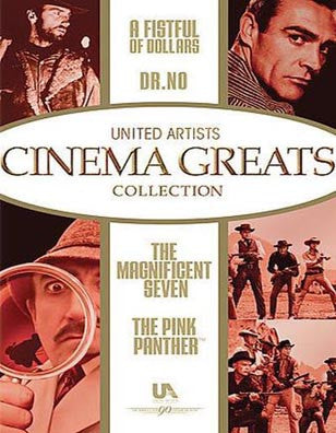 The Magnificent Seven - The Pink Panther - A Fistful of Dollars - Dr. No  - BRAND NEW  DVD
