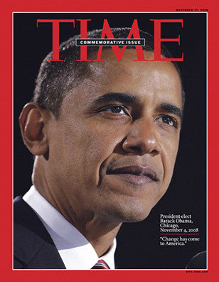 Time Magazine Commemorative Issue: President-elect Barack Obama Collector Magazine