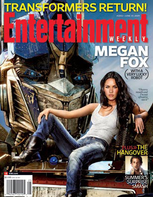 Entertainment Weekly Magazine Megan Fox Collector Magazine June 2009