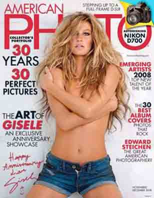 Gisele Bundchen - American Photo Magazine - November/December 2008 Magazine
