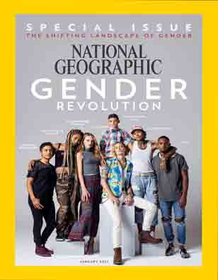 National Geographic: Gender Revolution Special Issue Magazine January 2017