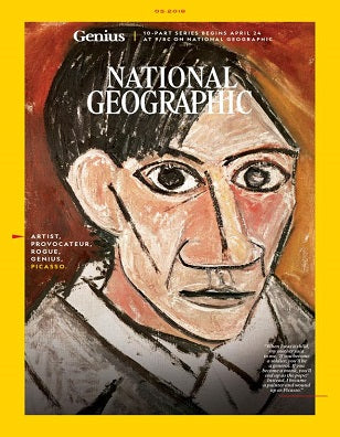 National Geographic: Picasso Genius Issue Magazine May 2018