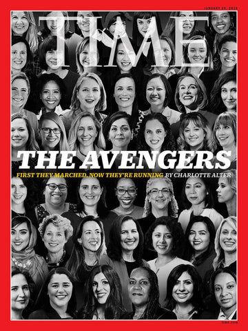 TIME MAGAZINE: THE AVENGERS ISSUE MAGAZINE JANUARY 2018