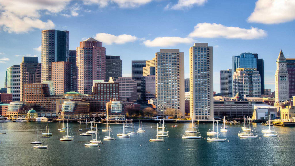 The Financial District of Boston