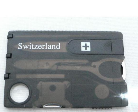 "Compact Credit Card ""On-the-Go"" Tool"