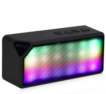 Color Bumping Speaker