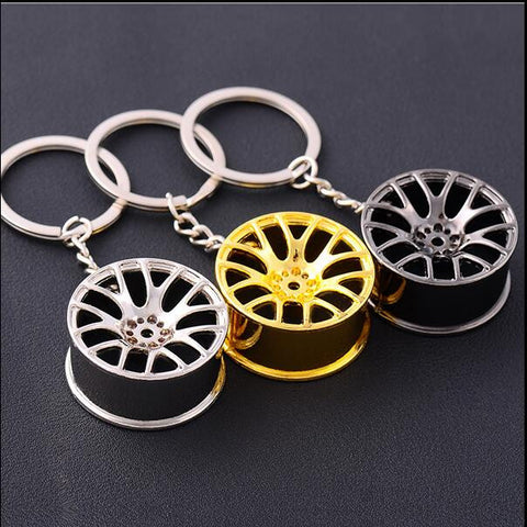 Hot Wheels Rim Key Chain