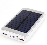 Solar Power External Battery USB