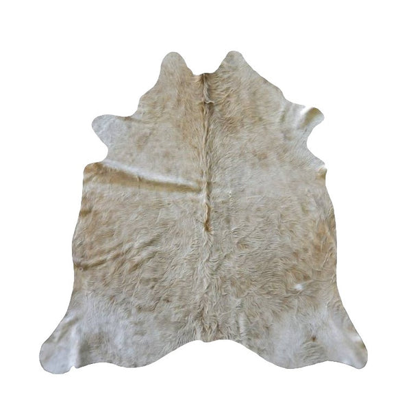 Medium Beige Solid Premium Brazilian Hide, XL CH22N R