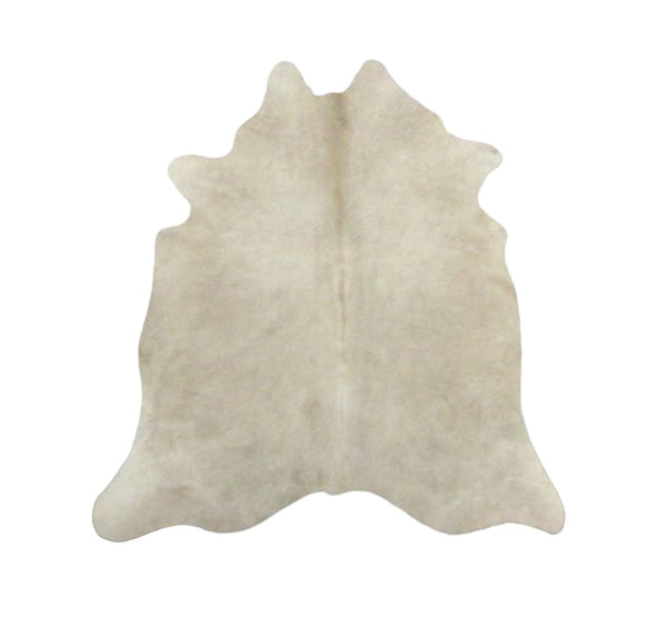 Light Beige Solid Premium Brazilian Hide, XL CH20N R