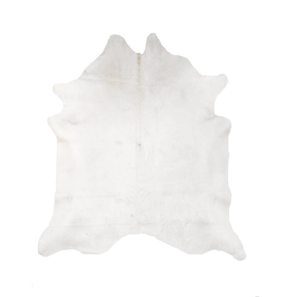 Solid Natural White, Premium Brazilian Cowhide, XL CH12N R