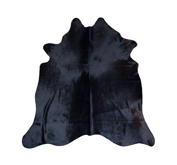 Black Solid Premium Brazilian Hide, XL CH13N R