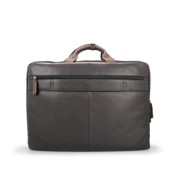 Winter Leather Briefcase