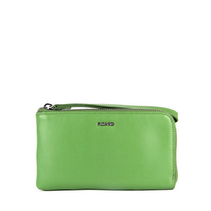 Aurora Zip Down Leather Pouch