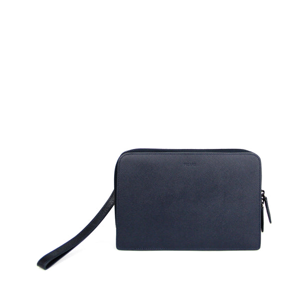 Austin Leather Clutch Bag