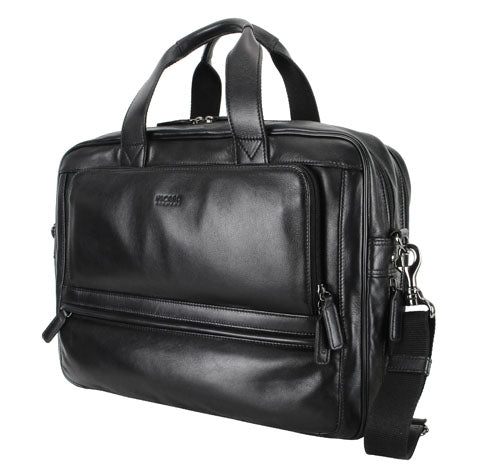 Business Travel Leather Briefcase