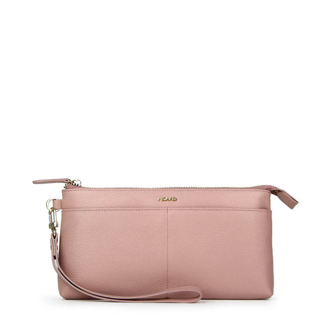 Breeze Leather Wristlet