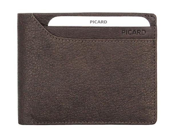 Picard Buffalo Flap Wallet with Card Window 004451