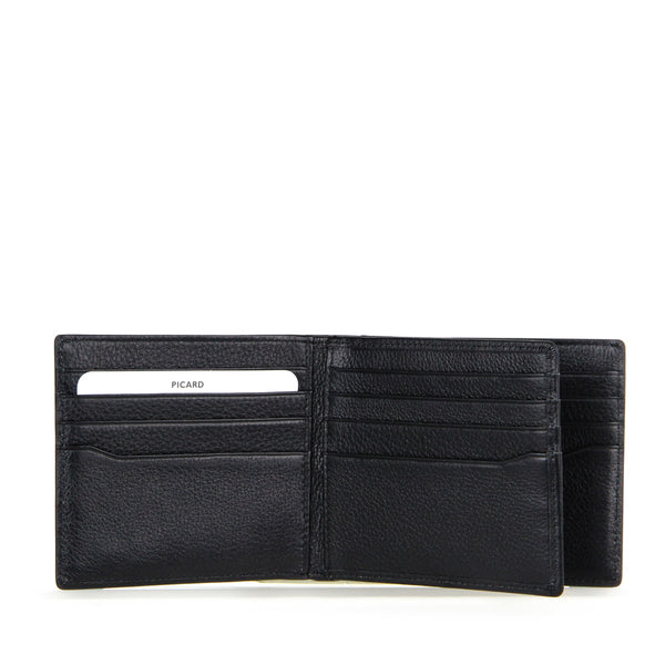 Camaro Bifold Flap Leather Wallet