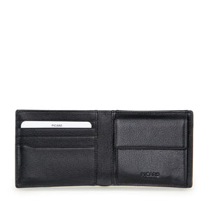 Camaro Bifold Leather Wallet with Coin Pouch