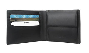 Picard Checker Wallet with Coin Pouch  007854