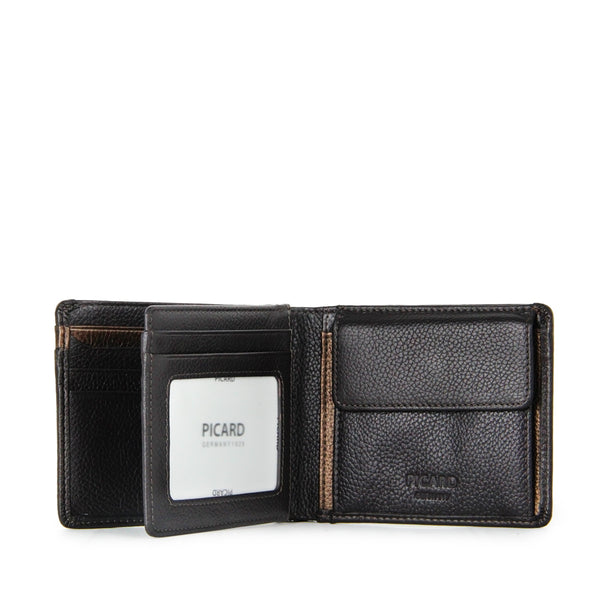 Cologne Flap Leather Wallet