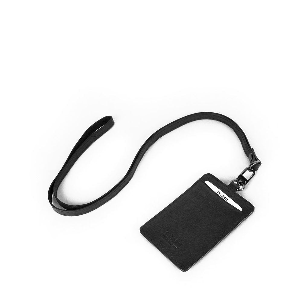 Digi Leather Pass Case and Neck Strap Set