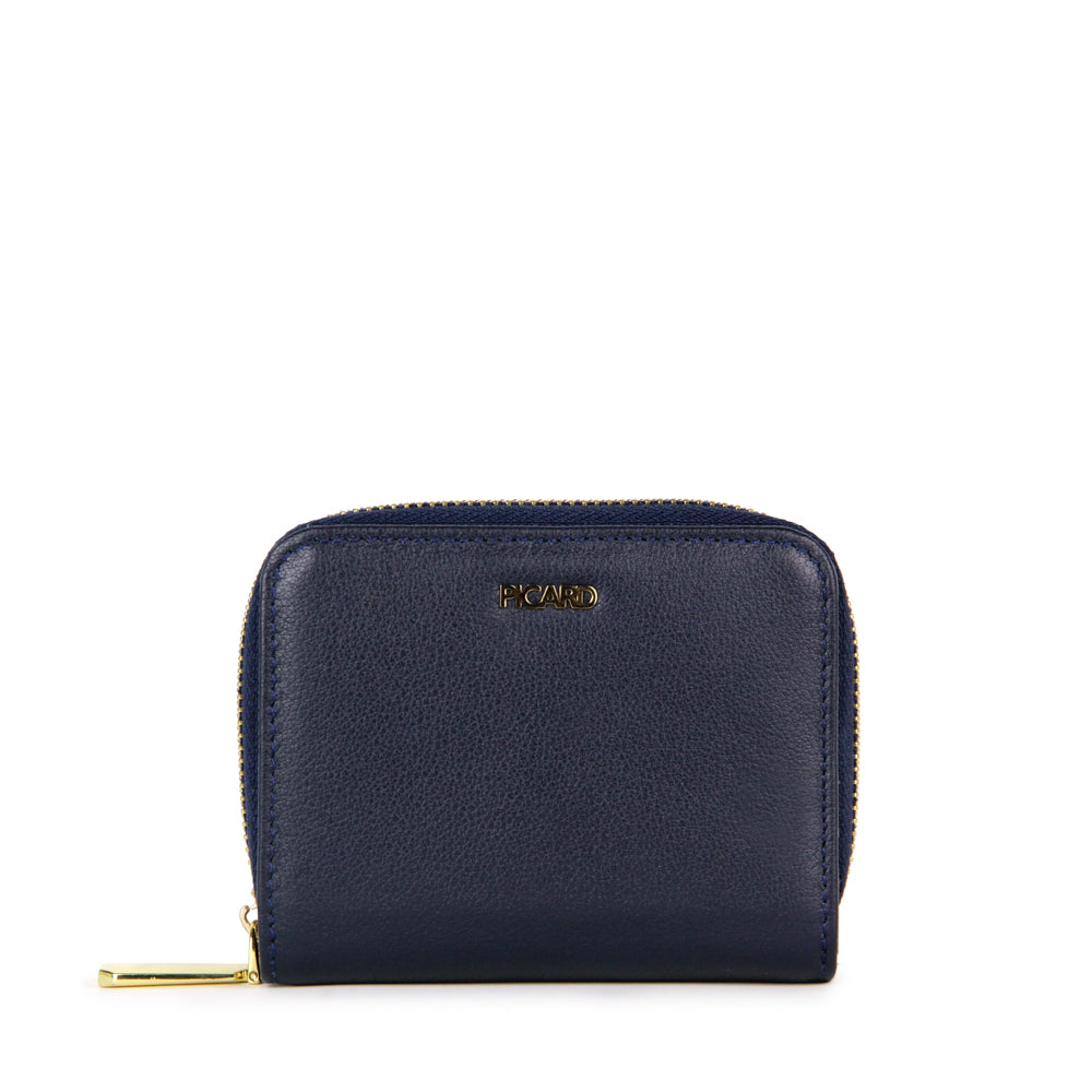 Genesis Small Wallet with Center Zip