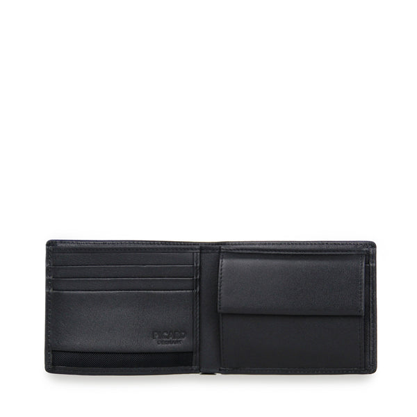 Gordon Leather Wallet with Coin Pouch