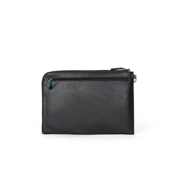 Jace Medium Leather Clutch