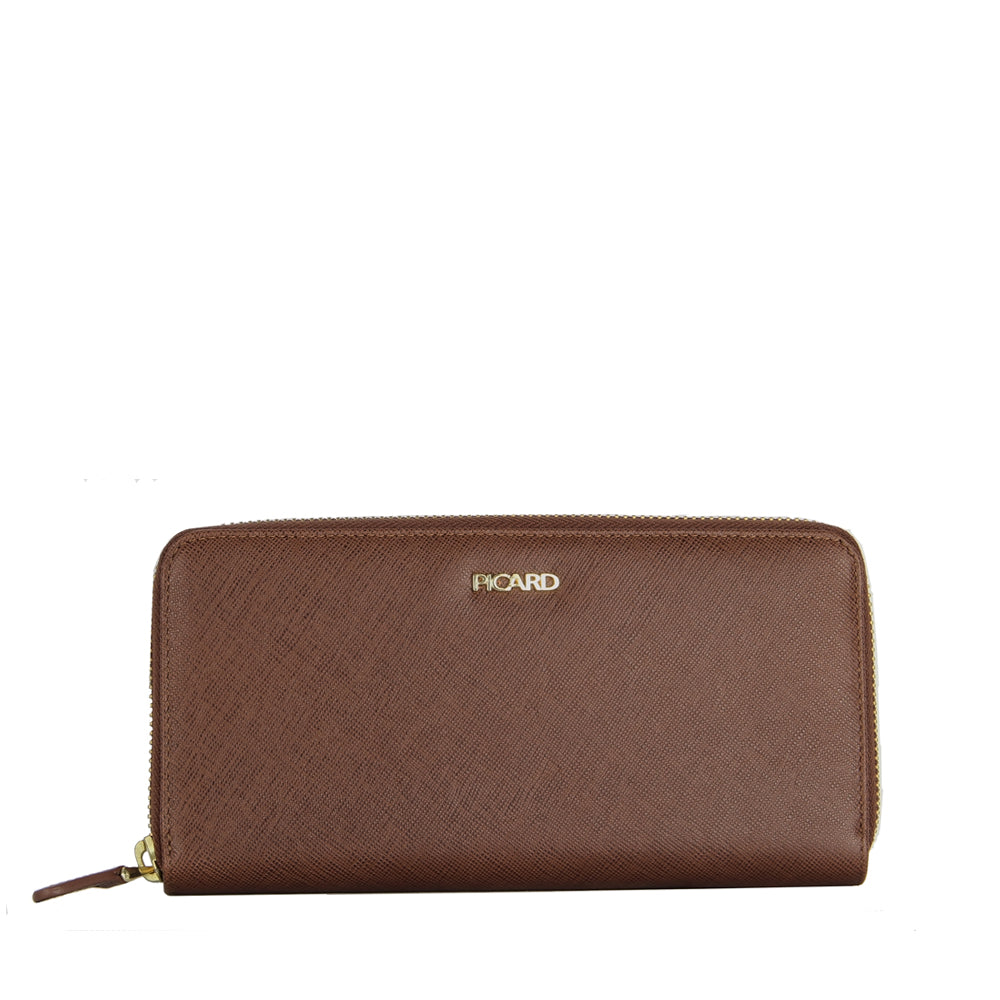 Lauren Long Zip Around Wallet
