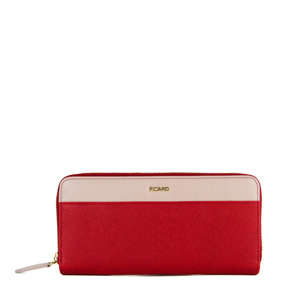Lauren Long Wallet with Zip