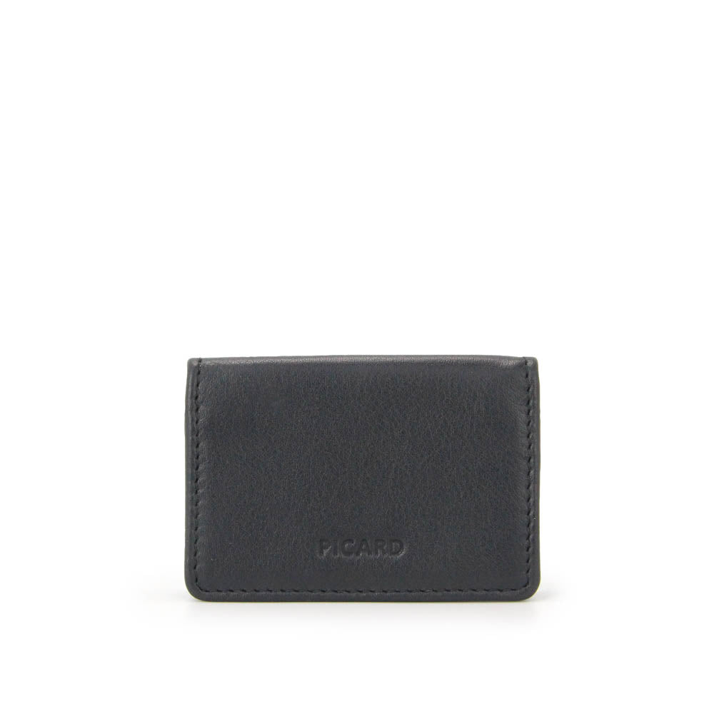 Loaf Leather Coin Pouch (Black)