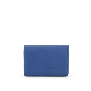Loaf Leather Coin Pouch (Blue)