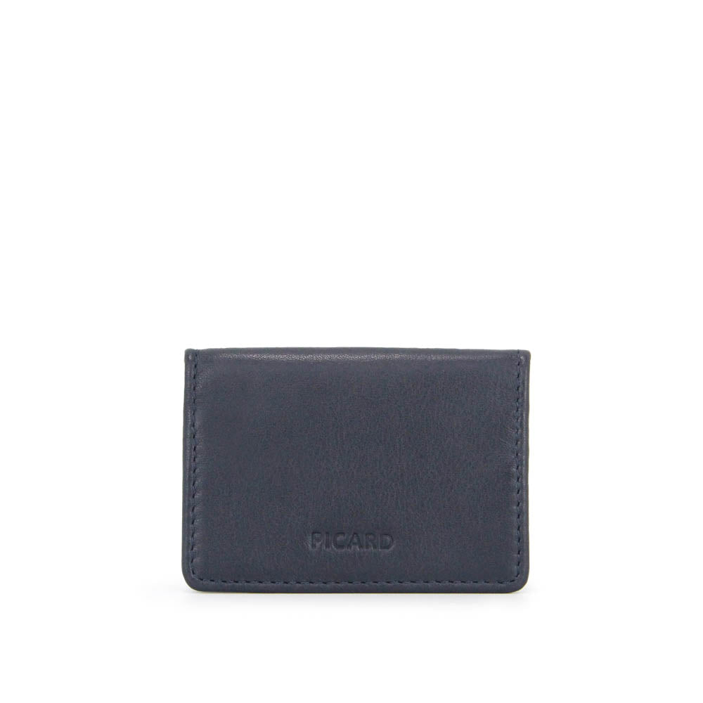 Loaf Leather Coin Pouch (Navy)