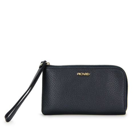 Muse Long Leather Wallet with Zip