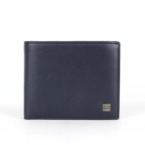 Offenbach Flap Leather Wallet With ID Window