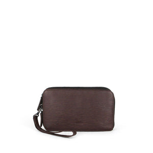 Porjus Triple Compartment Clutch Bag