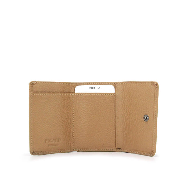 Rendezvous Trifold Leather Wallet