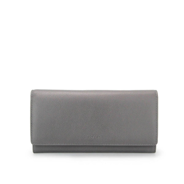 Rendezvous Flap Long Leather Wallet