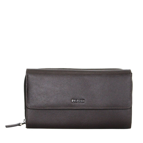Saffiano Clutch Bag