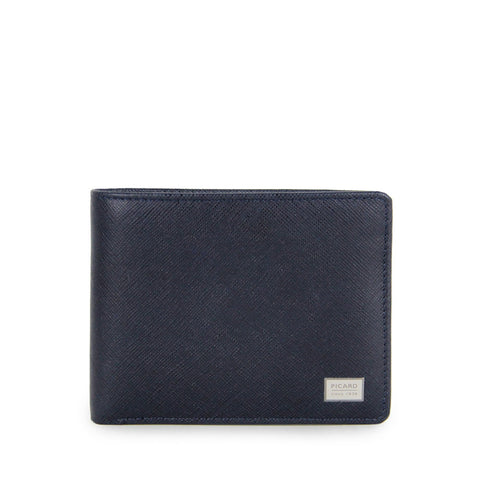 Saffiano Billfold Wallet with Coin Pouch