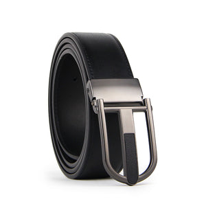 Sean 35mm Pin Buckle Leather Leather Belt (110cm)