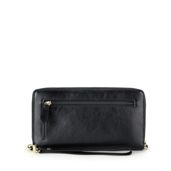 Since1928 Leather Wristlet