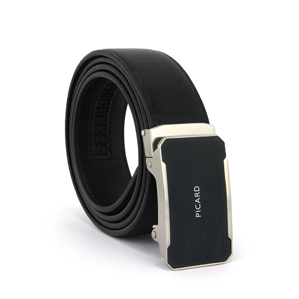 Steel Autolock Leather Belt (110cm)