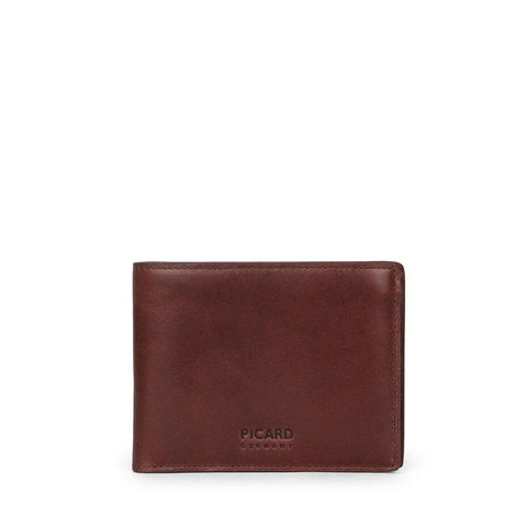 Teuer Slim Bifold Wallet with Card Window