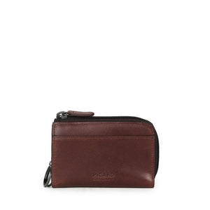 Teuer Leather Coin Pouch with Key Holder