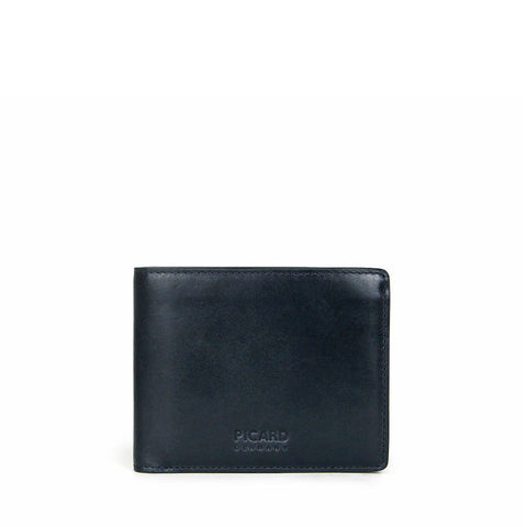 Teuer Bifold Leather Wallet with Coin Pouch