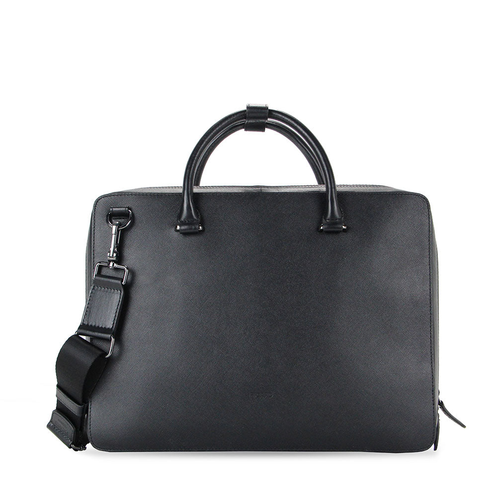 Edmund Leather Document Bag