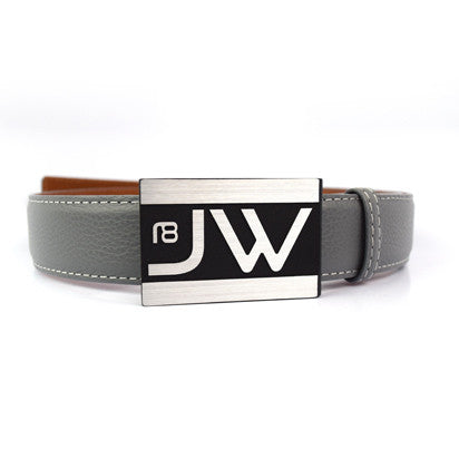 Custom Initials Golf Belt